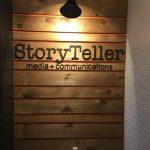 StoryTeller Lobby Sign