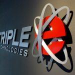 Triple E Technologies Logo Lobby Sign