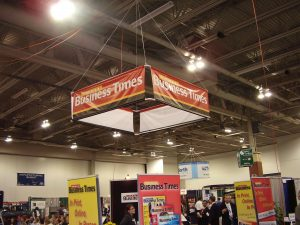 Ceiling Mount Trade Show Banners