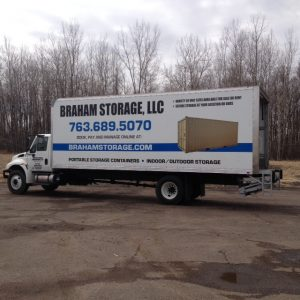 Minneapolis Vehicle Wraps Braham Storage Side 300x300