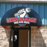 Full Color Store Front Awning Sign