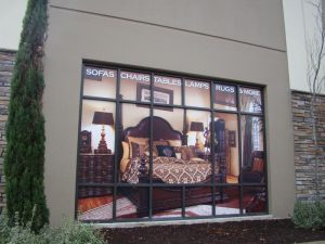 Full Vinyl Window Graphics for Window Display