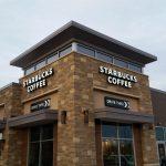 Starbucks Backlit Channel Lettering