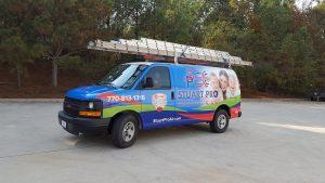 Stuart Pro Heating & Air Car Wrap
