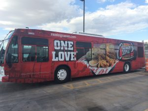 Tour Bus Graphics, Tour Bus Wrap with Privacy Window Film