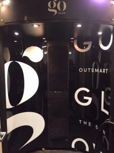 goGLOW panel sign
