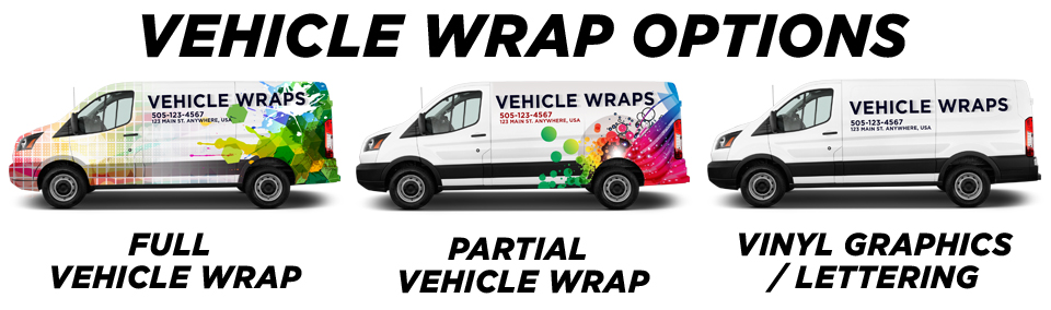 Wayzata Vehicle Wraps vehicle wrap options