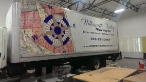 Tractor Trailer Wrap, Commercial Vehicle Graphics