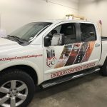 complete truck vehicle wrap