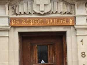 Outdoor Signs Pi Kappa Alpha  300x225