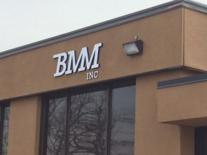 BMM Inc Sign