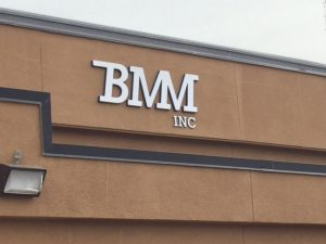 BMM Inc Exterior Sign