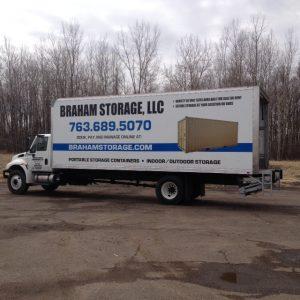 Vehicle Wraps Braham Storage Side  300x300