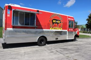Custom Food Truck Vehicle Wrap