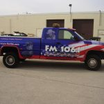 Complete Transformation Truck Wrap with Window Decals