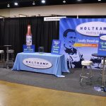 Complete Trade Show Display, Tabletop Display, Pop-Up Banner, Large Format Banner, Printed Tablecloth
