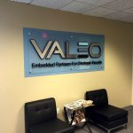 Valeo Lobby Sign