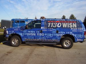 Vinyl Vehicle Wrap with Custom Graphics