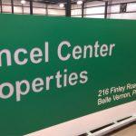 Monument Sign for Amcel Center