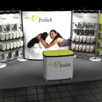 custom tradeshow booth display