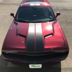 Charger with Custom vinyl striping