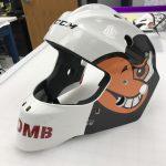 custom vinyl graphics for helmet