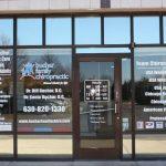 Vinyl Signs Copy of Chiropractic Office Window Decals 150x150