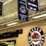custom hockey rink signs