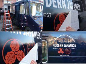 Car Wraps custom vinyl vehicle wrap installation graphics 300x221