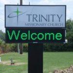 Vehicle Graphics custom digital monument church sign 225x300 150x150