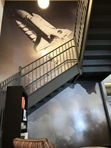 giant wall mural