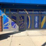 Vinyl Signs Hayfield Community Schools Window Wrap 150x150
